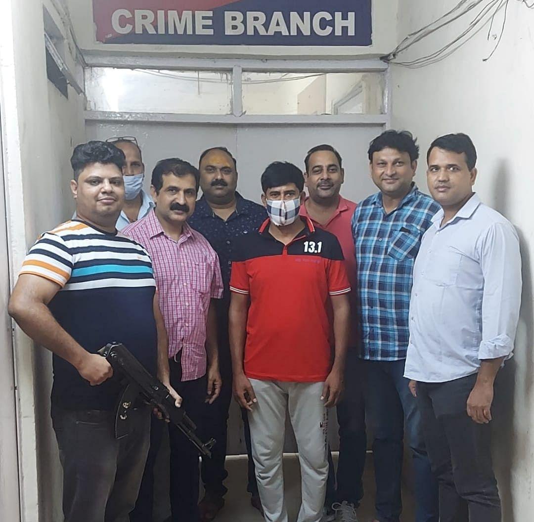 Dreaded Criminal Nabbed By Crime Branch of Delhi Police