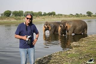 German Envoy Spends Day At Elephant Conservation Camp And Care Centre In Mathura