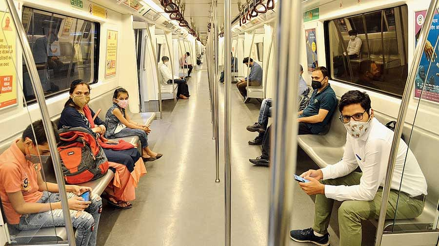 From Monday, Delhi Metro, DTC Buses To Operate At 100 Percent Capacity