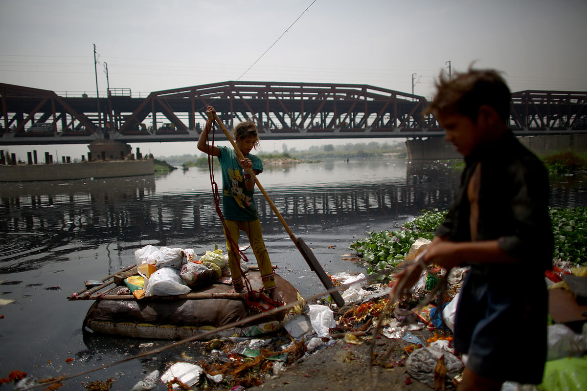 Eight Central Government Aided Projects In Uttar Pradesh To Minimise Pollution In Yamuna River
