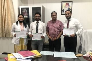 JNMCH Students Grab 1st Prize At 'Innovate For Infectious Diseases' Competition