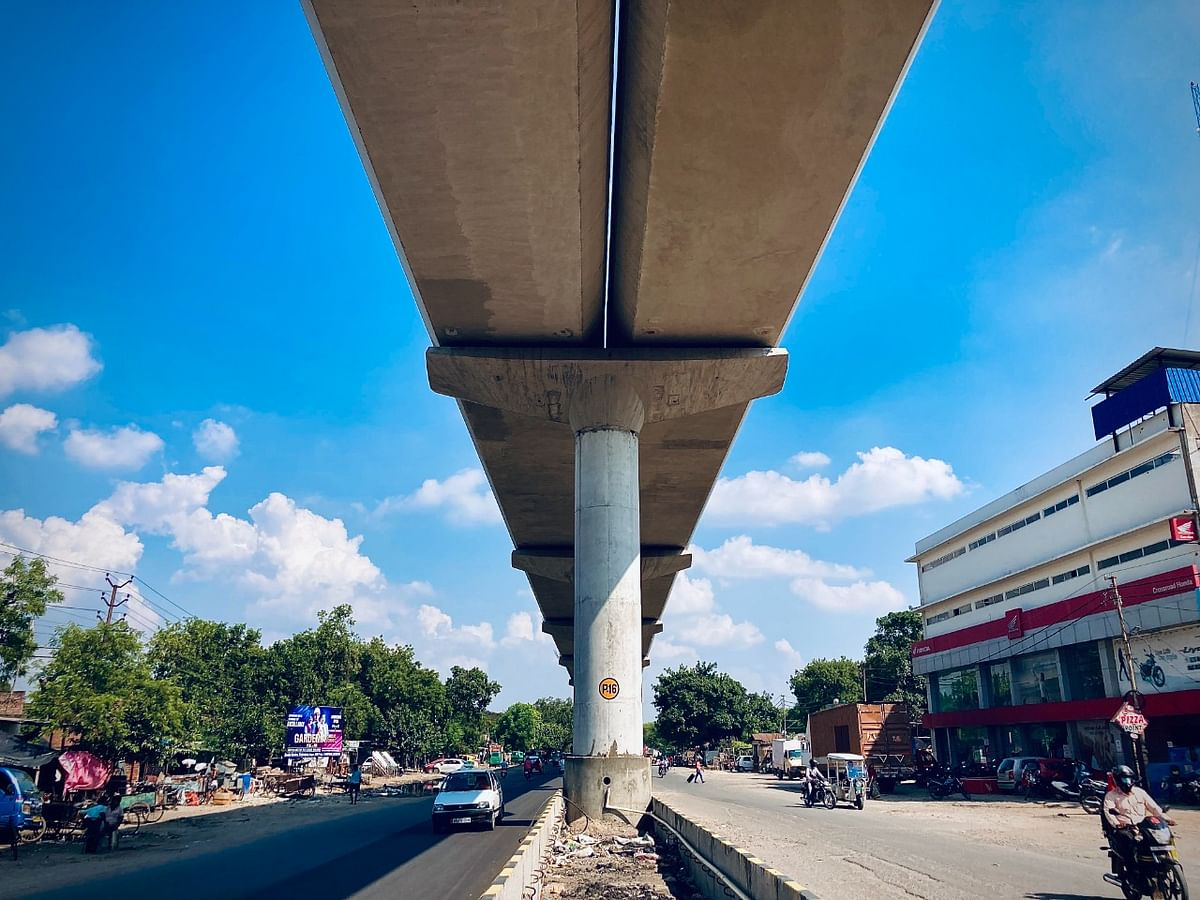 All Pillars On IIT-Kanpur-Motijheel Metro Rail Link Completed