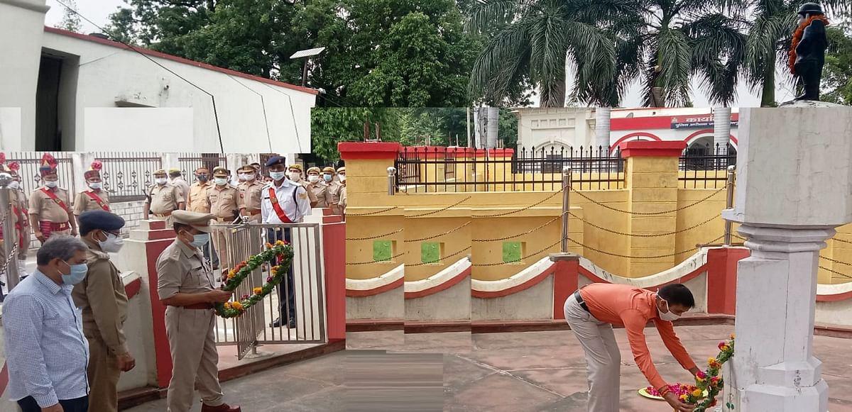 काकोरी ट्रेन एक्शन की वर्षगांठ पर मैनपुरी में बैंड-बाजे की मधुर धुन के साथ शहीदों को दी गयी सलामी