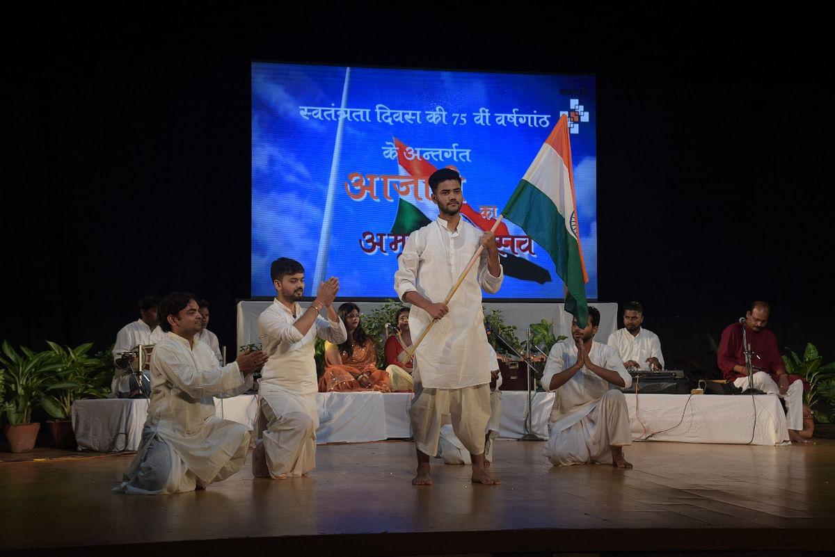 प्रयागराज में आज़ादी का अमृत महोत्सव का आयोजन