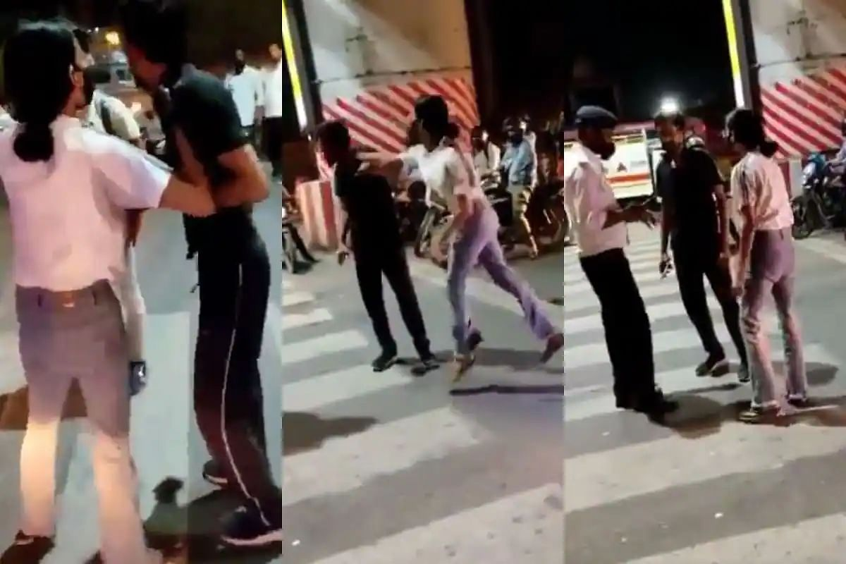 Three Krishnanagar Police Station Officers Sent To Lines In Incident Involving Girl Slapping A Cab Driver