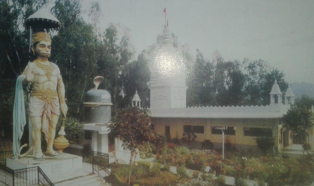 नीब करौरी बाबा की अनंत कथाएँ: विशाल-रूप हनुमान मूर्ति, शंकर भगवान का एक अत्यन्त भव्य मंदिर निर्मित हुआ