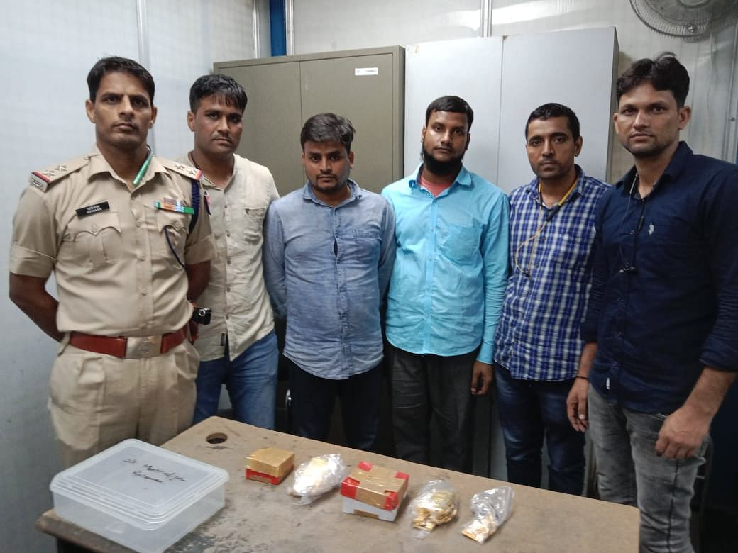 Passenger Duo From Lucknow Held By RPF With 7-Kg Gold At New Delhi Railway Station