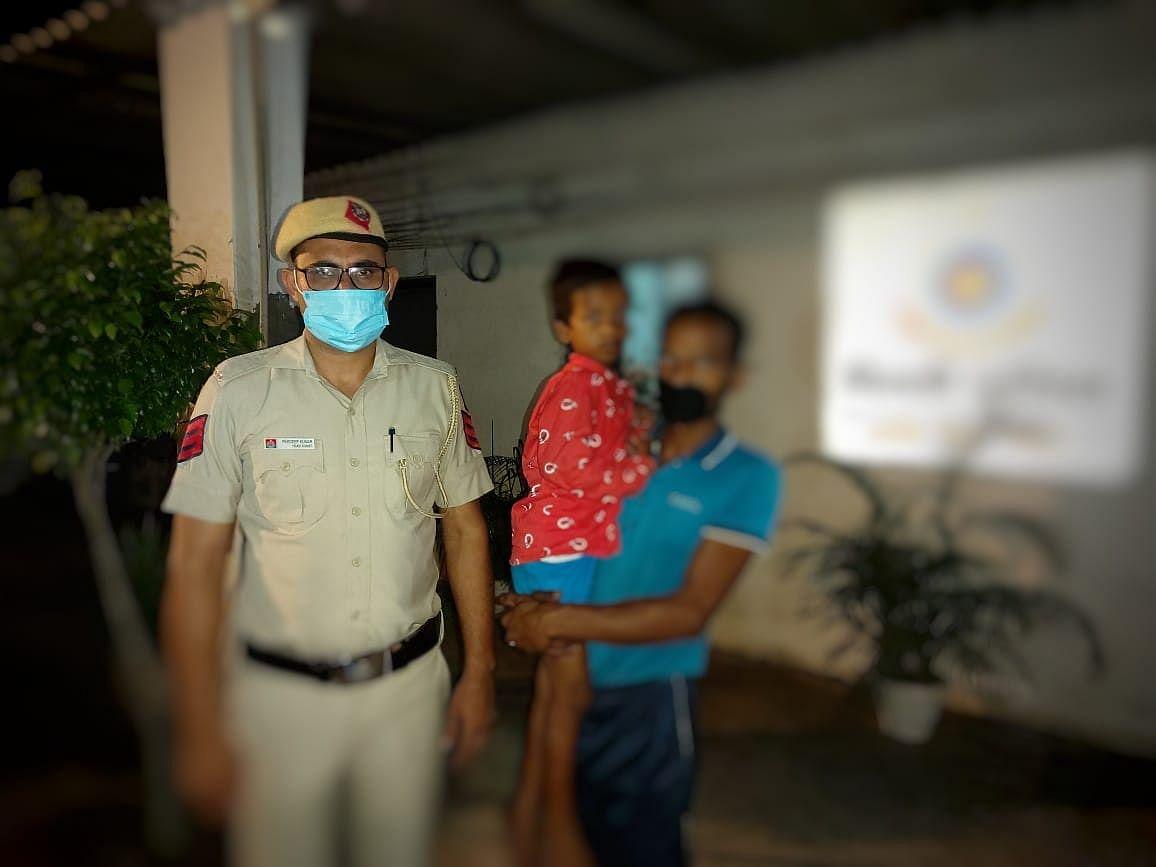 Restoring Smiles: Delhi Police Reunites Missing Child With Family