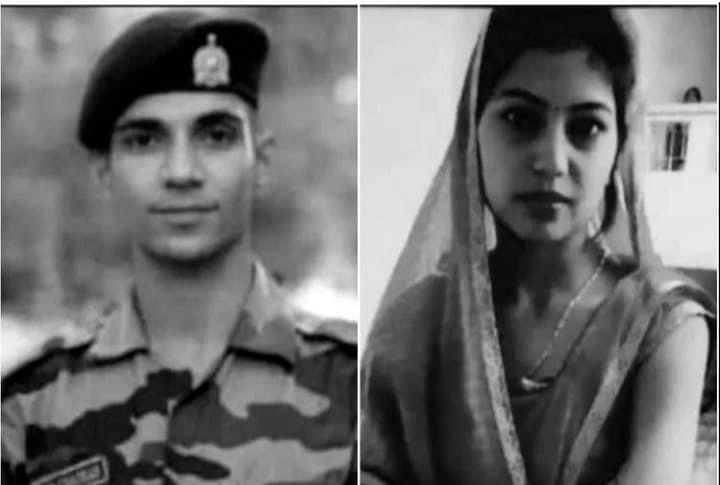 Wife Of Army Trooper Who Committed Suicide In Kashmir A Few Days Back Also Hangs Self In Etah