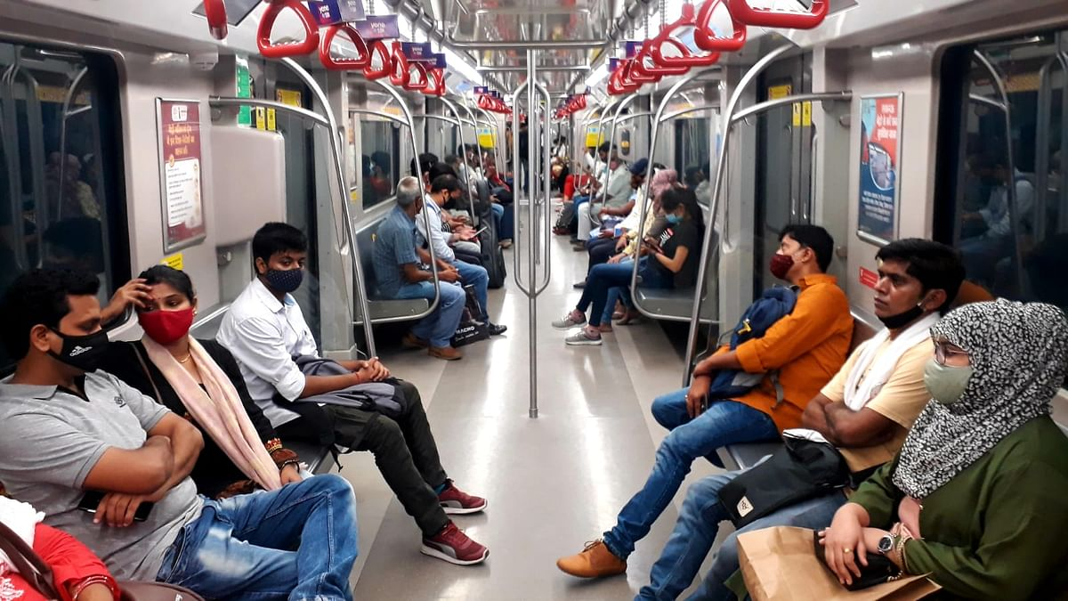 Lucknow Metro Logs Its Highest Daily Post-Covid Ridership With 50,000 Passengers On Monday