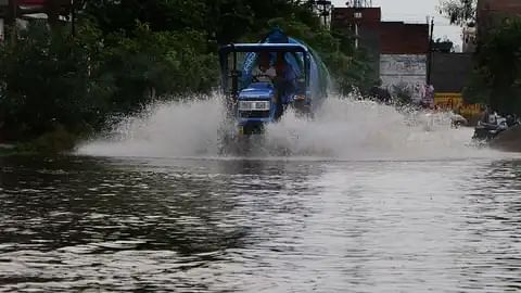 No Respite From Rains In UP For The Next 48-Hours, Alert In 23 Districts