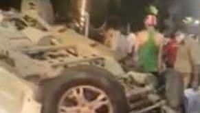 Speeding Kills One, Injures 3 In Lohia Path Mishap In Lucknow