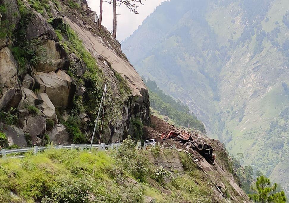 Shooting Stones, Falling Boulders Hamper Rescue Operation In Kinnaur