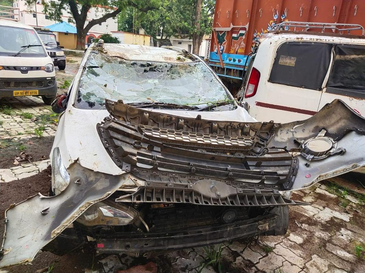 Five, Including Three Kids Killed In Road Mishap In Mau District of Uttar Pradesh