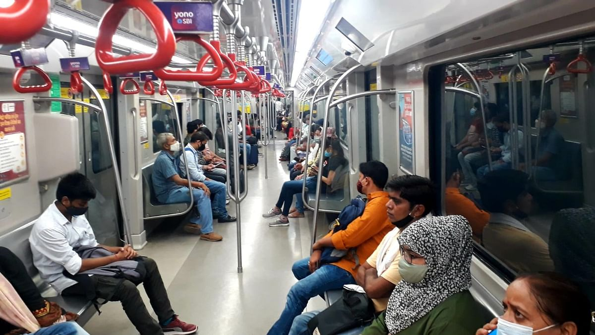 Lucknow Metro Logs Another Ridership High, Fastest Post-Covid Lockdown Recovery Pan-India