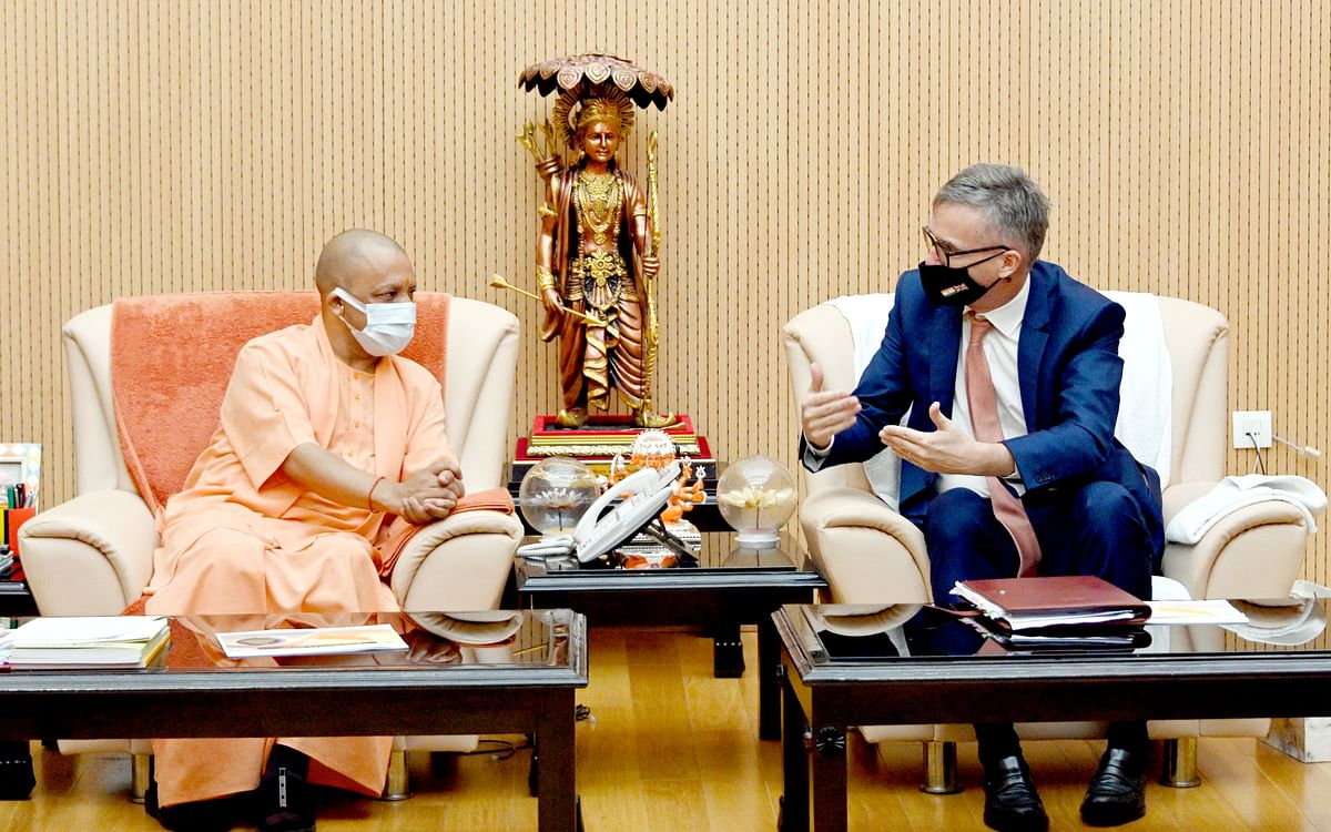 British High Commissioner Calls On UP Chief Minister
