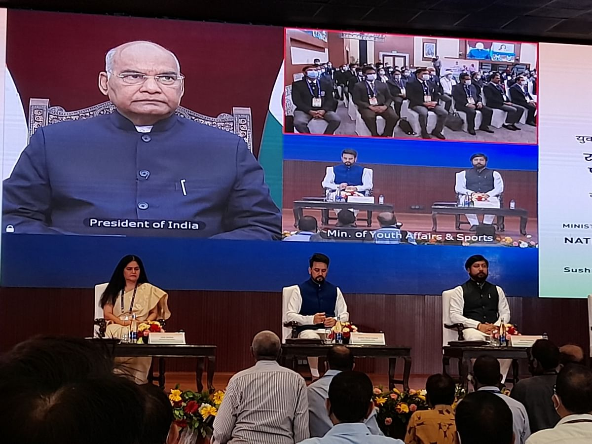President Presents National Service Scheme Awards For The Year 2019-20