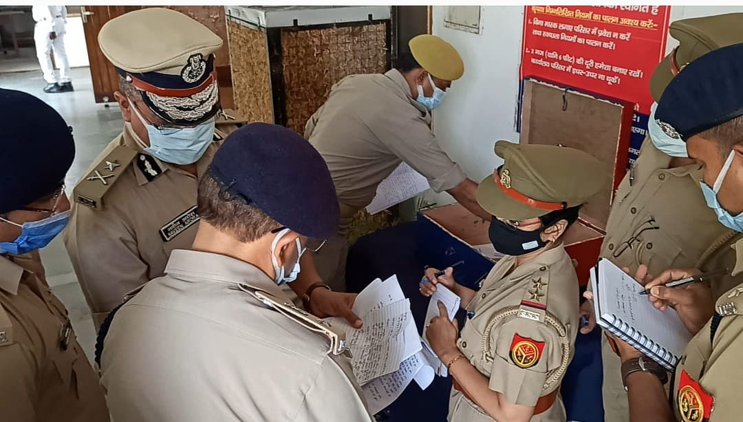 IG Finds Complaints As Old As Five Months Dumped, Gathering Dust At Mainpuri Police Office