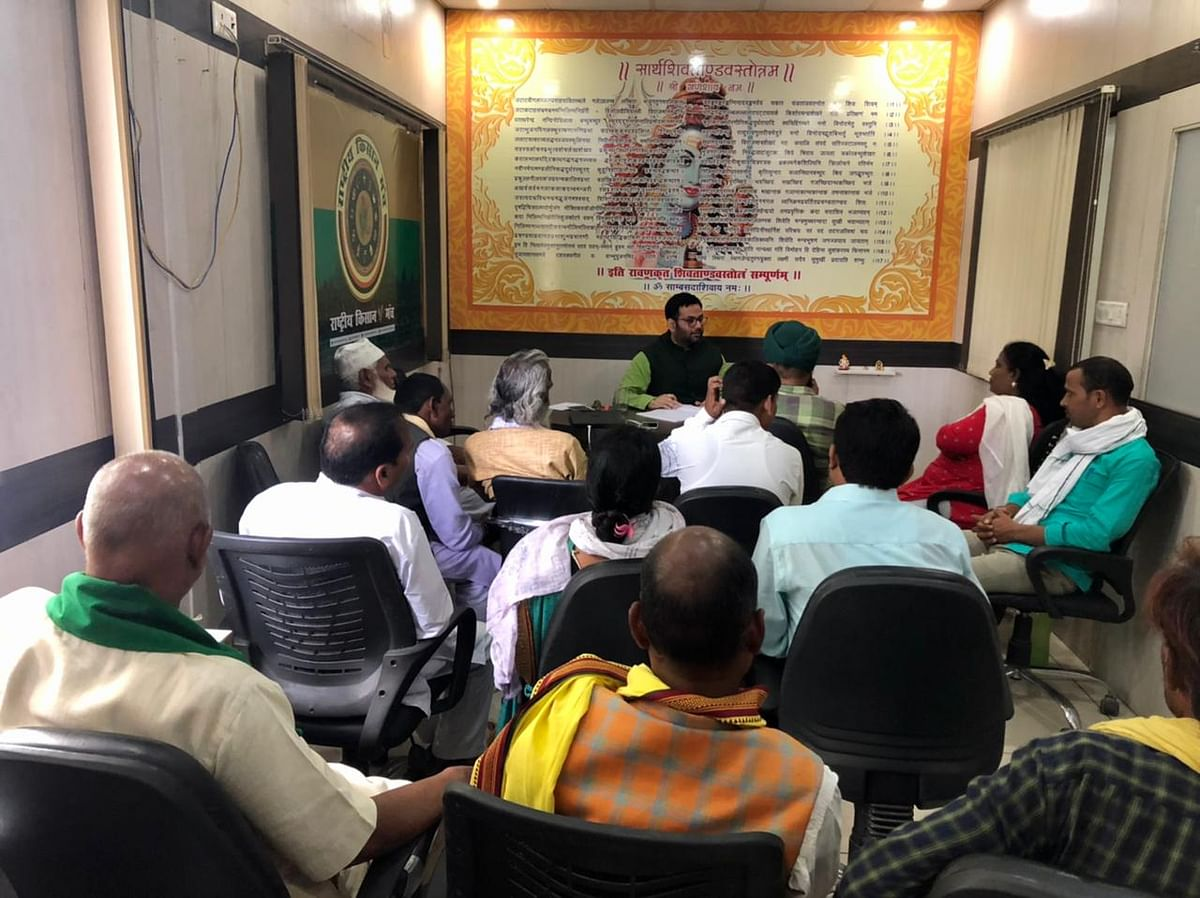 राष्ट्रीय किसान मंच अवध क्षेत्र की बैठक लखनऊ में संपन्न