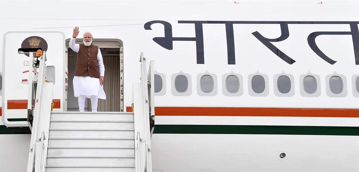 PM Modi Leaves For Us, To Meet Biden-Kamala Harris