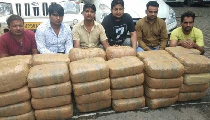 STF Arrests Six Drug Smugglers In Greater Noida, Opium Worth Rs 1.25 crores Seized