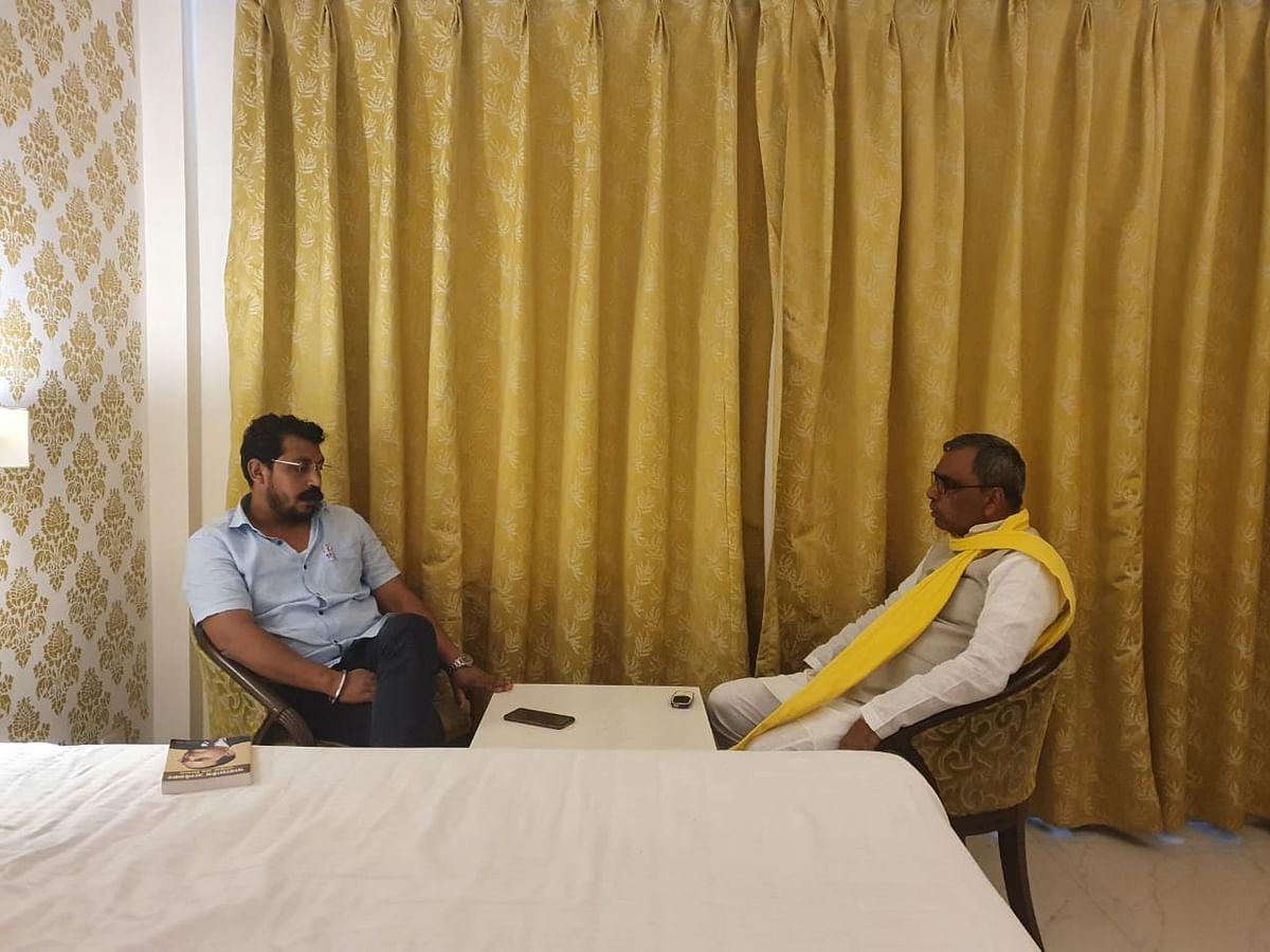 Chandrshekhar Ravana Refuses To Join Rajbhar-Owaisi Front In UP As Of Now