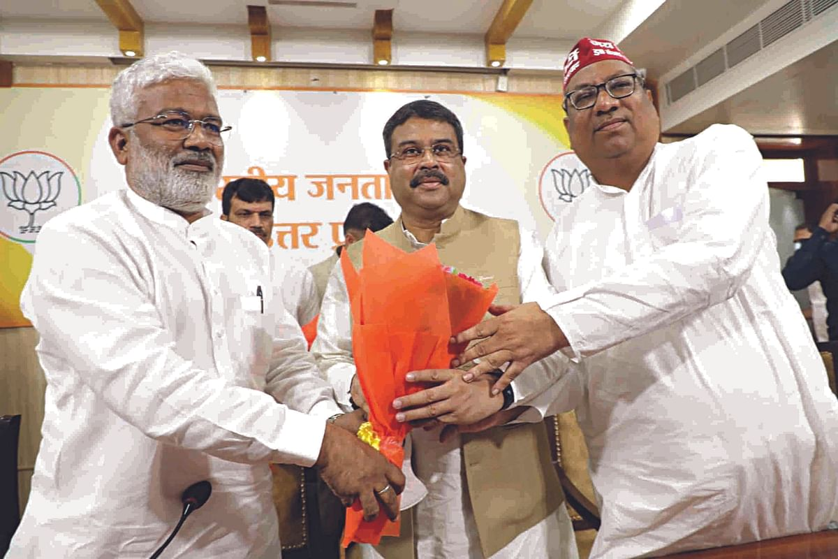 BJP-Nishad Party Seal Alliance For 2022 UP Assembly Polls