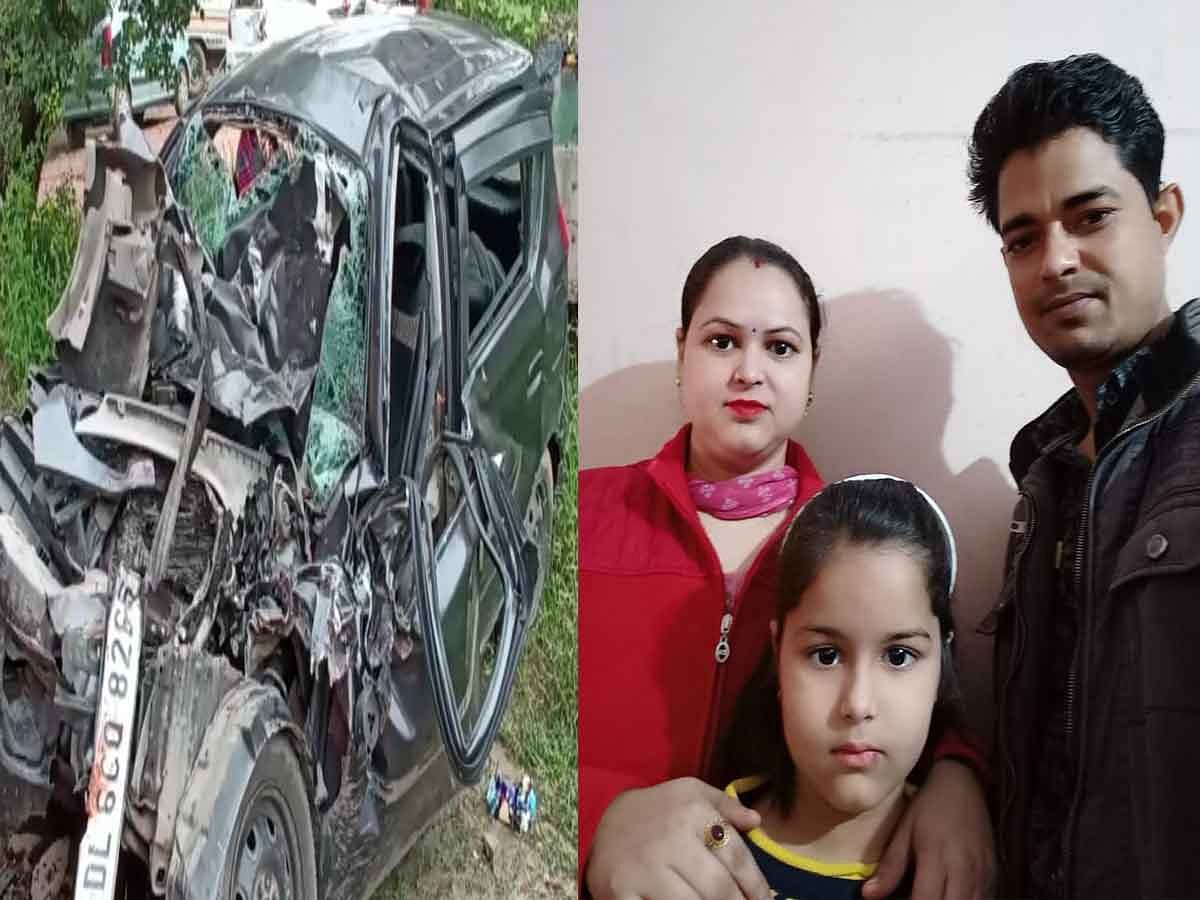 Five Of A Family Killed In Ghaziabad Road Mishap