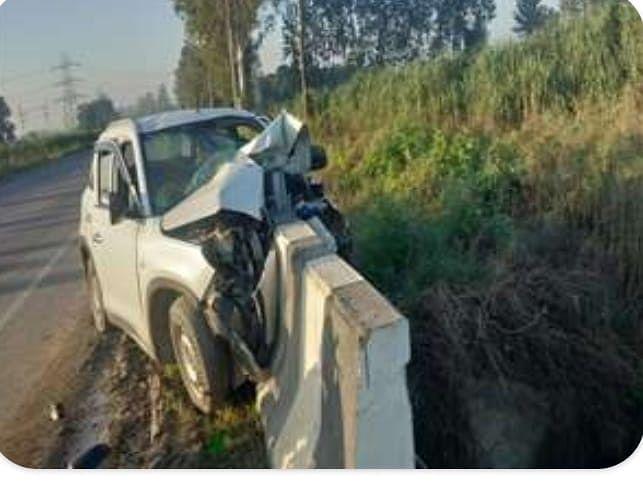 تین ، سہارنپور میں سڑک حادثے میں ایک جوڑے سمیت ہلاک
