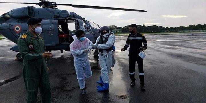 Indian Navy Evacuates Covid Suspect Filipino Crew On Merchant Navy Ship On The High Seas