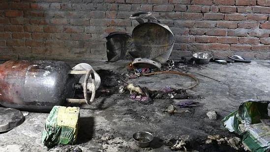 LPG Cylinder Blast Leaves Ten Injured In Azamgarh