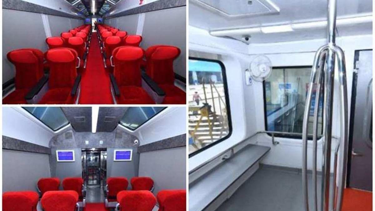 Hirakhand Express With Modern Linke-Hofmann-Busch Coaches Flagged Off From Bhubaneshwar