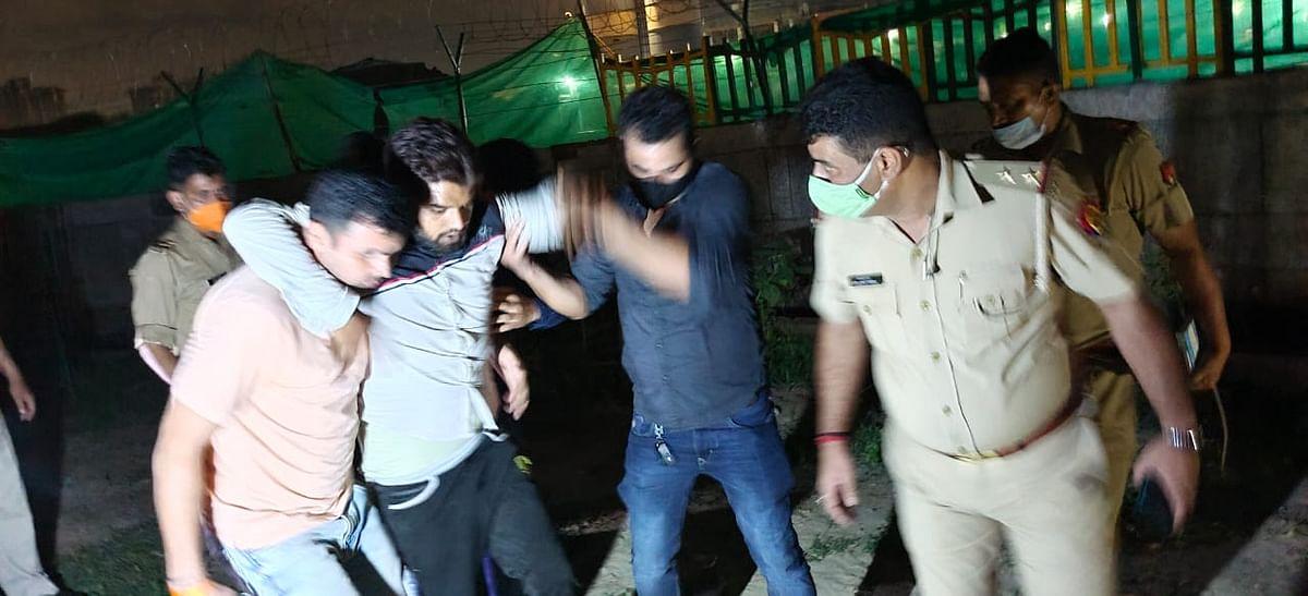 Criminal Arrested In Noida After Police Encounter