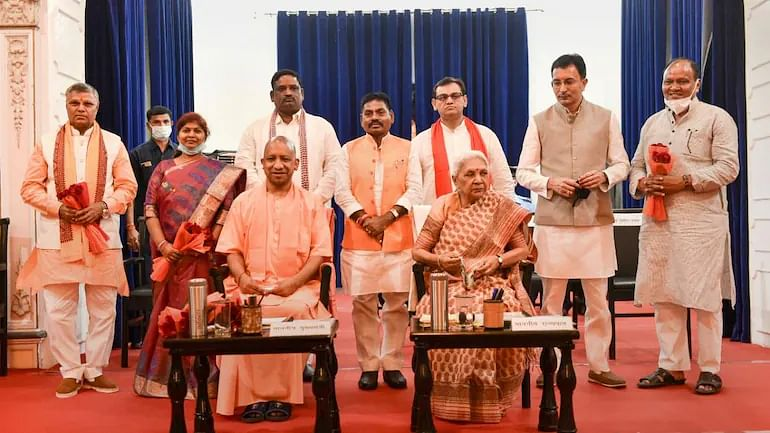 Newly Sworn-In UP Ministers Allocated Portfolios, Jitin Prasad Gets Technical Education