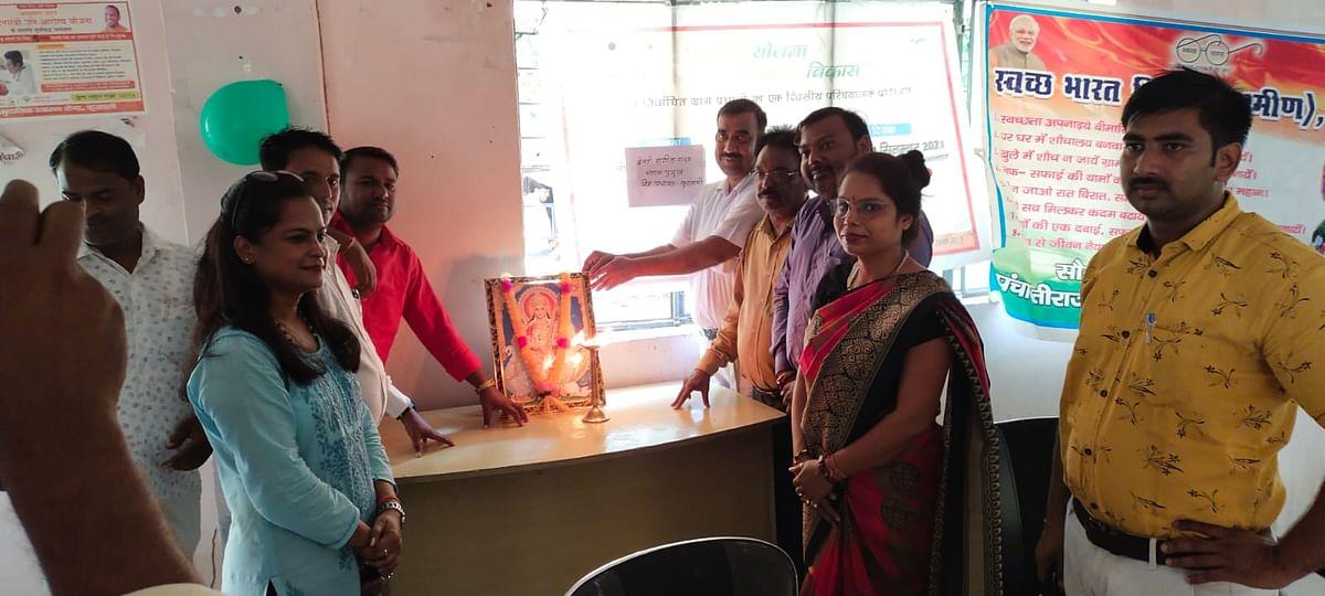 मैनपुरी में प्रधानों को प्रशिक्षण के माध्यम से विकास कार्यों पर बारीकी से दी गयी जानकारी