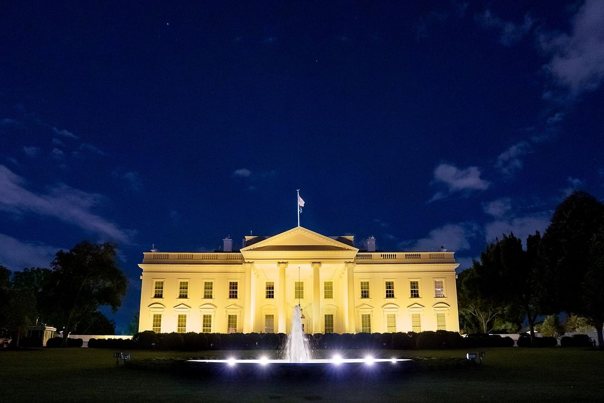 The White House Lit Up Gold For National Childhood Cancer Awareness Month