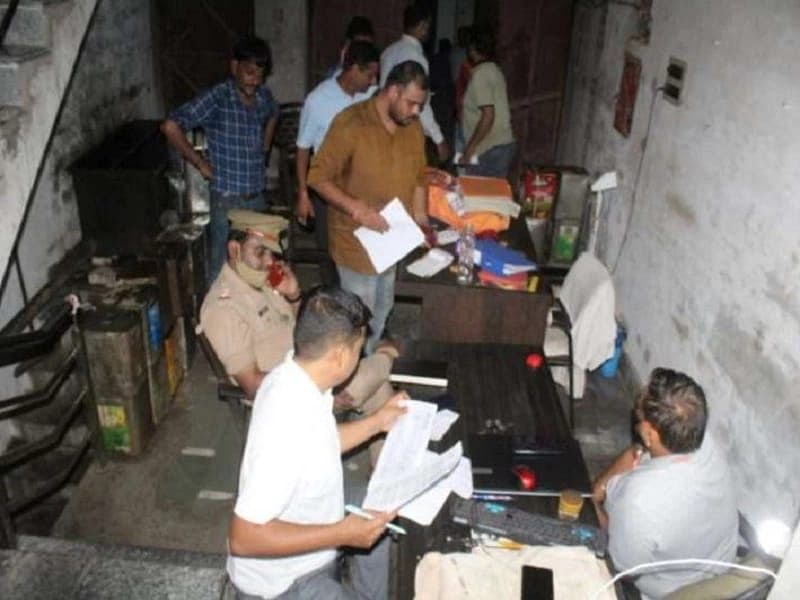 UP STF Unearths Fake 'Fortune' Refined Oil Making Unit In Aligarh