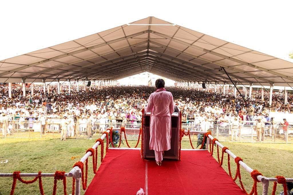 At Kisan Nyay Rally In Varanasi, Priyanka Gandhi Tears Into BJP, Calls PM Anti-Farmer