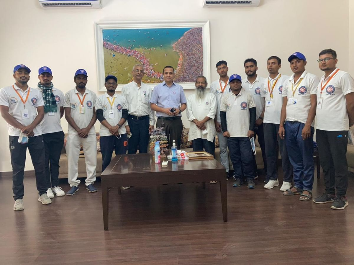 Azadi Ka Amrit Mahotsav Cycle Yatra Receives Grand Welcome In Kanpur