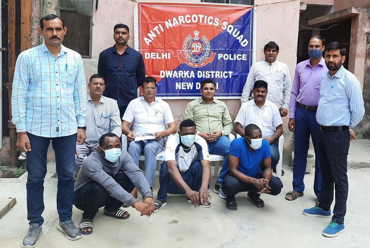 Delhi Police Bust International Drug Racket, Three Nigerian Nationals Arrested