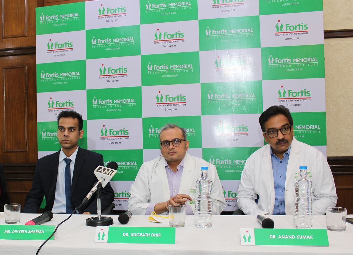 World's Largest Chest Tumour Of A Football Size Successfully Removed At Fortis