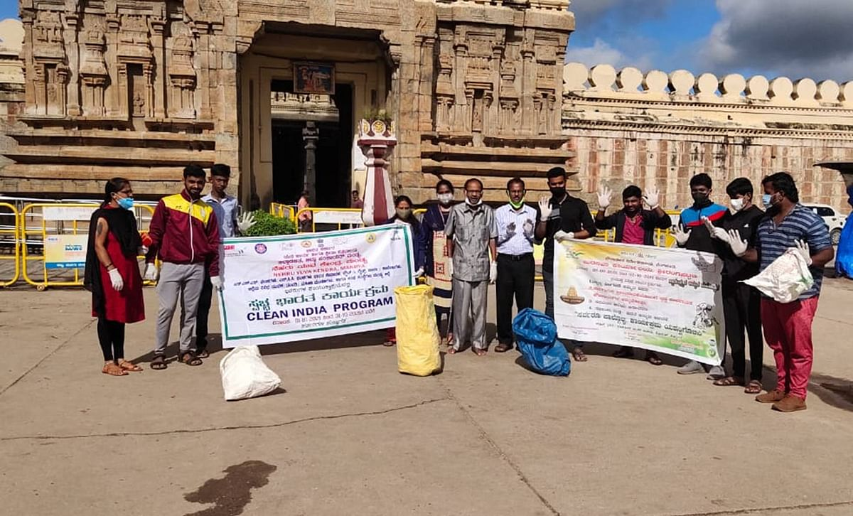 Month-long Clean India Drive In Full Swing At More Than 25 Key Iconic Heritage Sites Across India