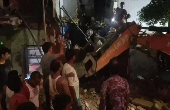 Five Die, Five Critically Injured As House Collapses In Jaunpur Village