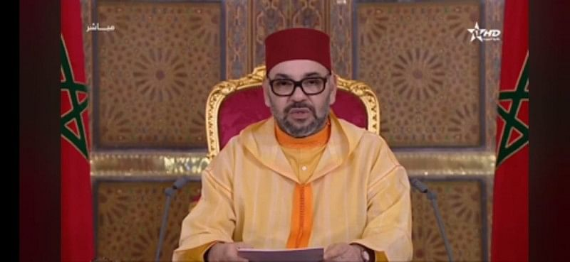 Moroccan King Delivers Speech At Parliament Opening
