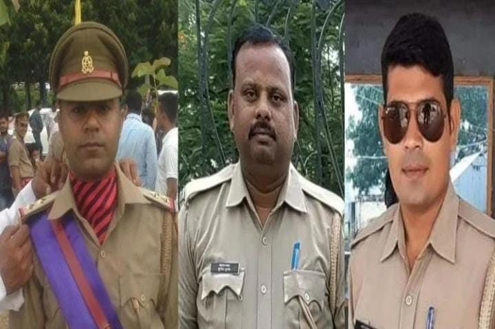 Three UP Policemen Among Four Killed In Morena Road Accident