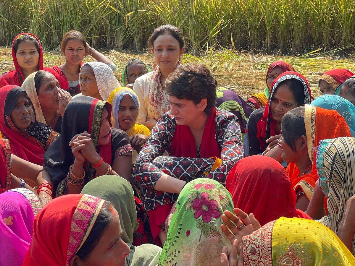 Priyanka Gandhi Kicks Off Pratigya Yatra From Barabanki, Interacts With Women, Makes Important Announcements