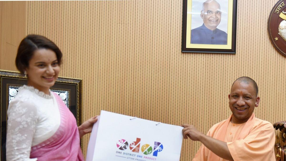 Kangana Ranaut Named Brand Ambassador For UP's Ambitious ODOP Scheme
