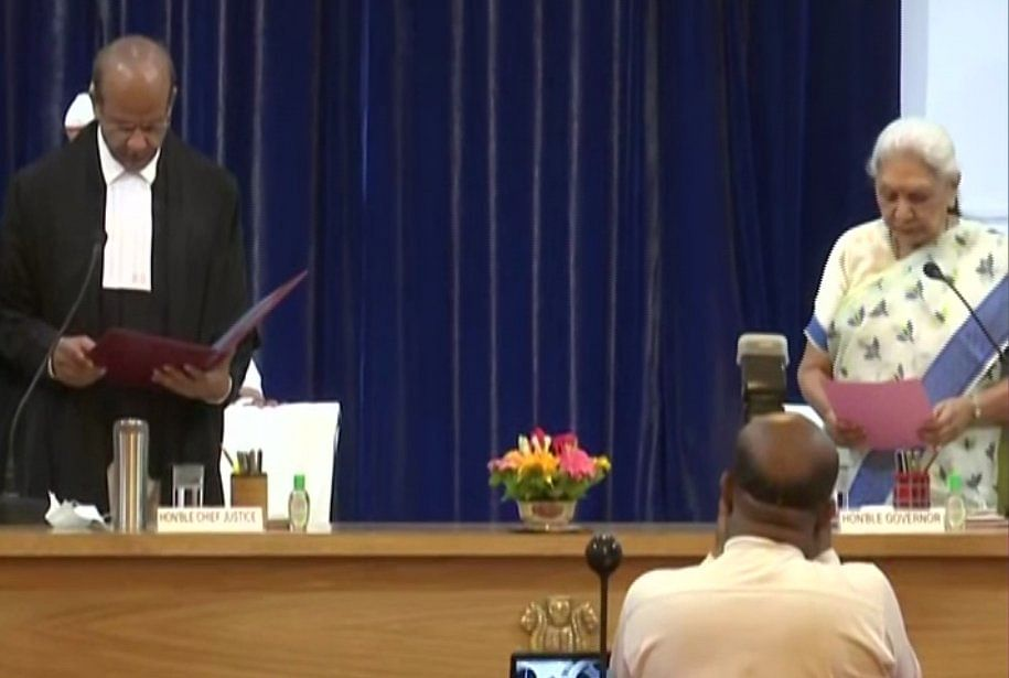 Justice Rajesh Bindal Sworn-In As Chief Justice Of The Allahabad High Court