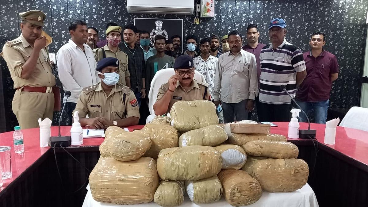 Firozabad Police SOG Bust Inter-State Drug Ring, Six Arrested