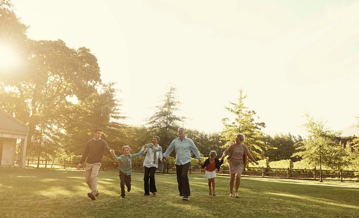 Get out. Let your hair down. Have some unadulterated family time (Photo: iStock)